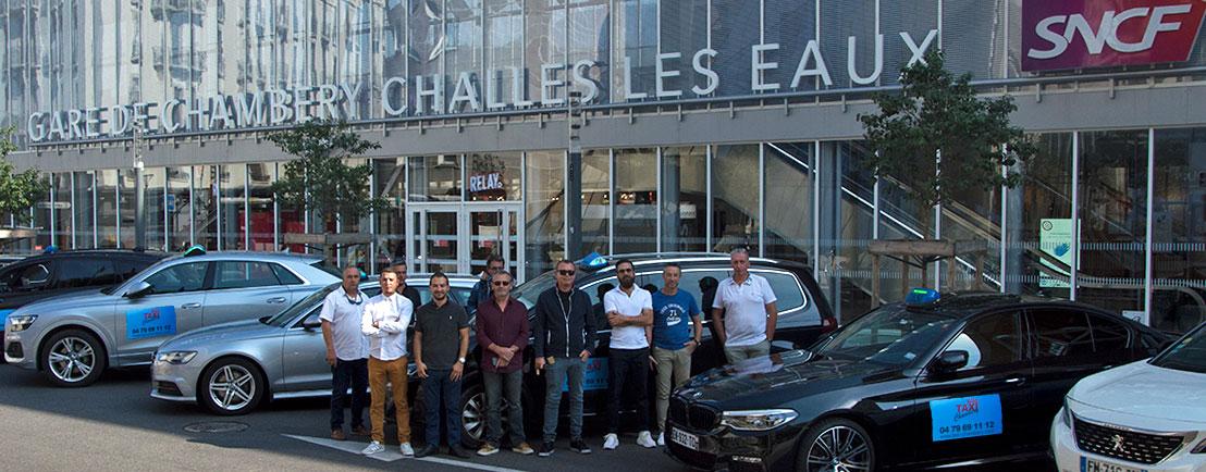 Taxi gare SNCF Chambéry - Challes-Les-Eaux